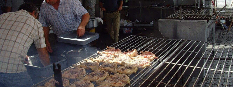 Chicken eating Tabua