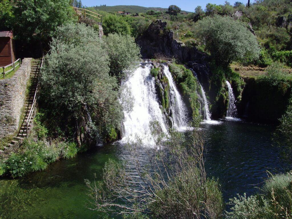 Bezoek aan watervallen