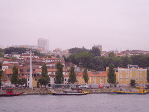 Porto with her beautiful Port houses