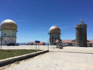 Torre Serra da Estrela hoogste punt vaste land Portugal