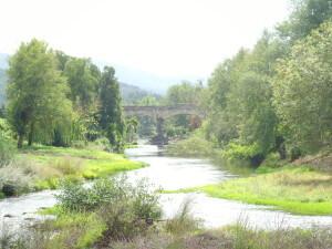 Rio Alva bij Arganil