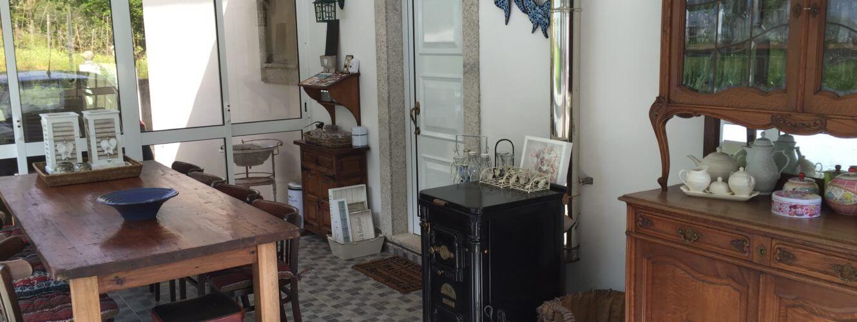 serre annex eetkamer Casa Traca
