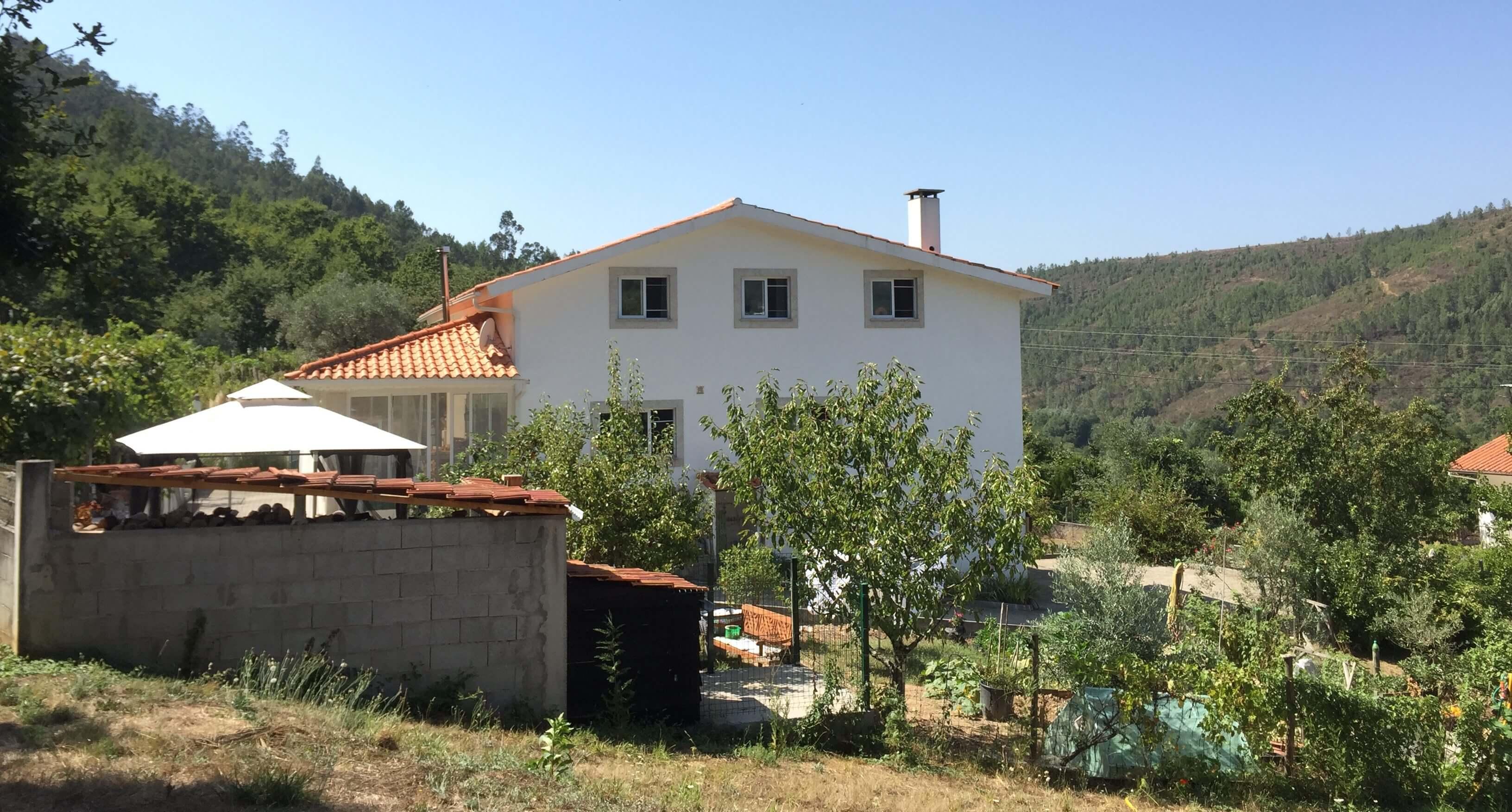 Casa Traca overzicht tuin