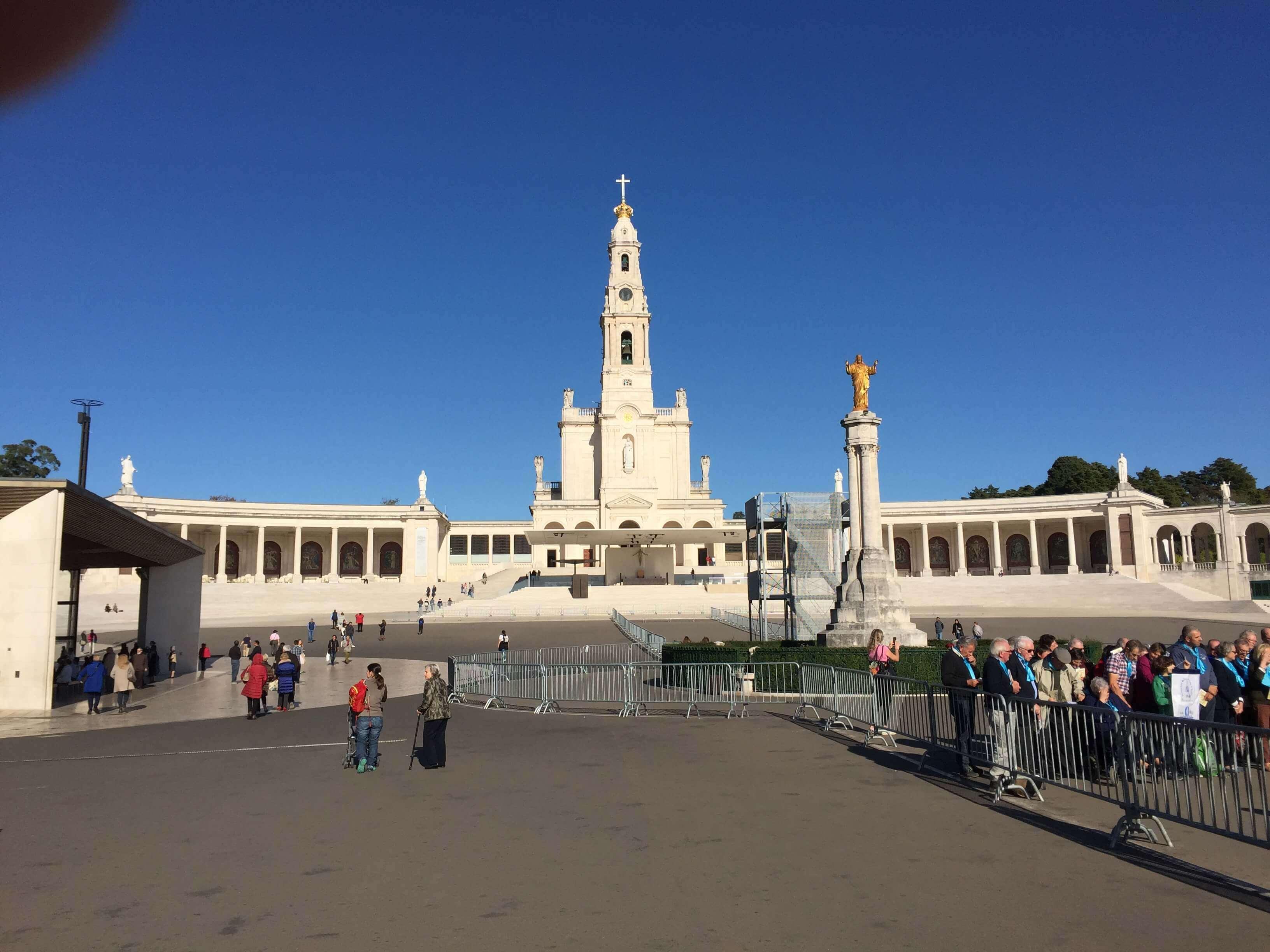 Paus bezoekt Fatima Pope