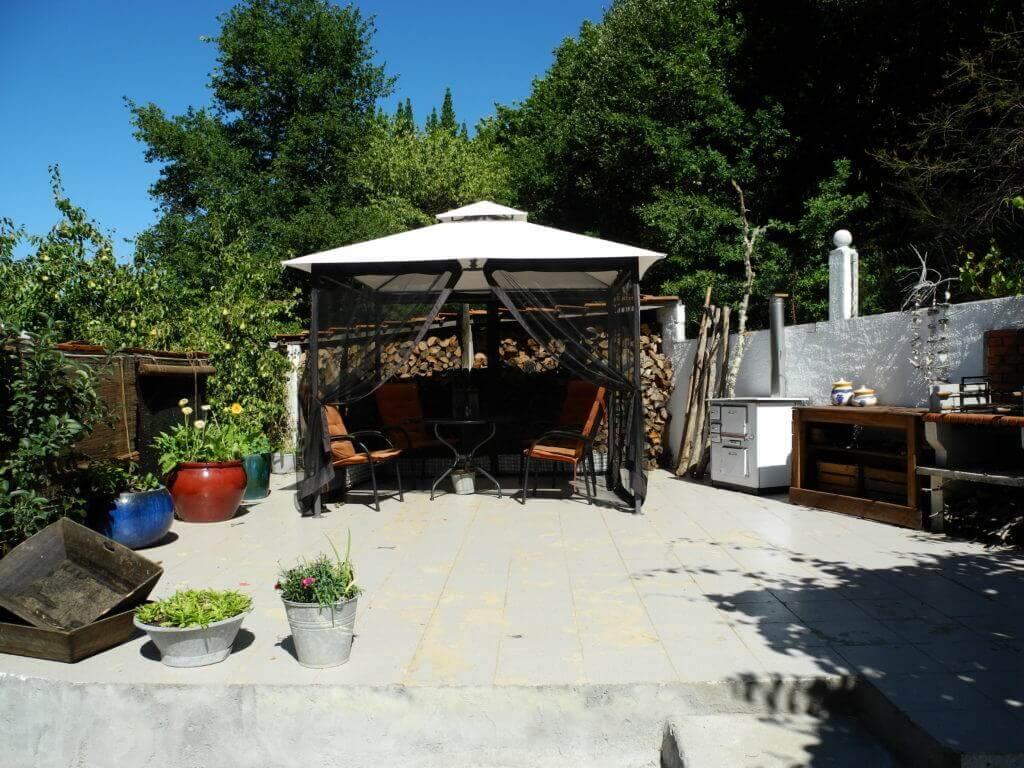 Casa Traca grote bbq terras met keuken 2017