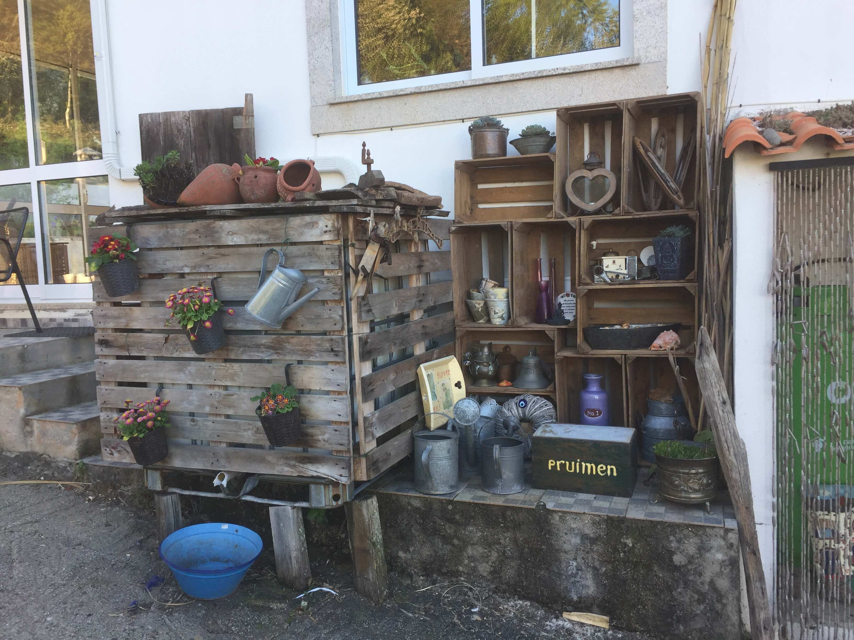 Casa Traca tuinkast