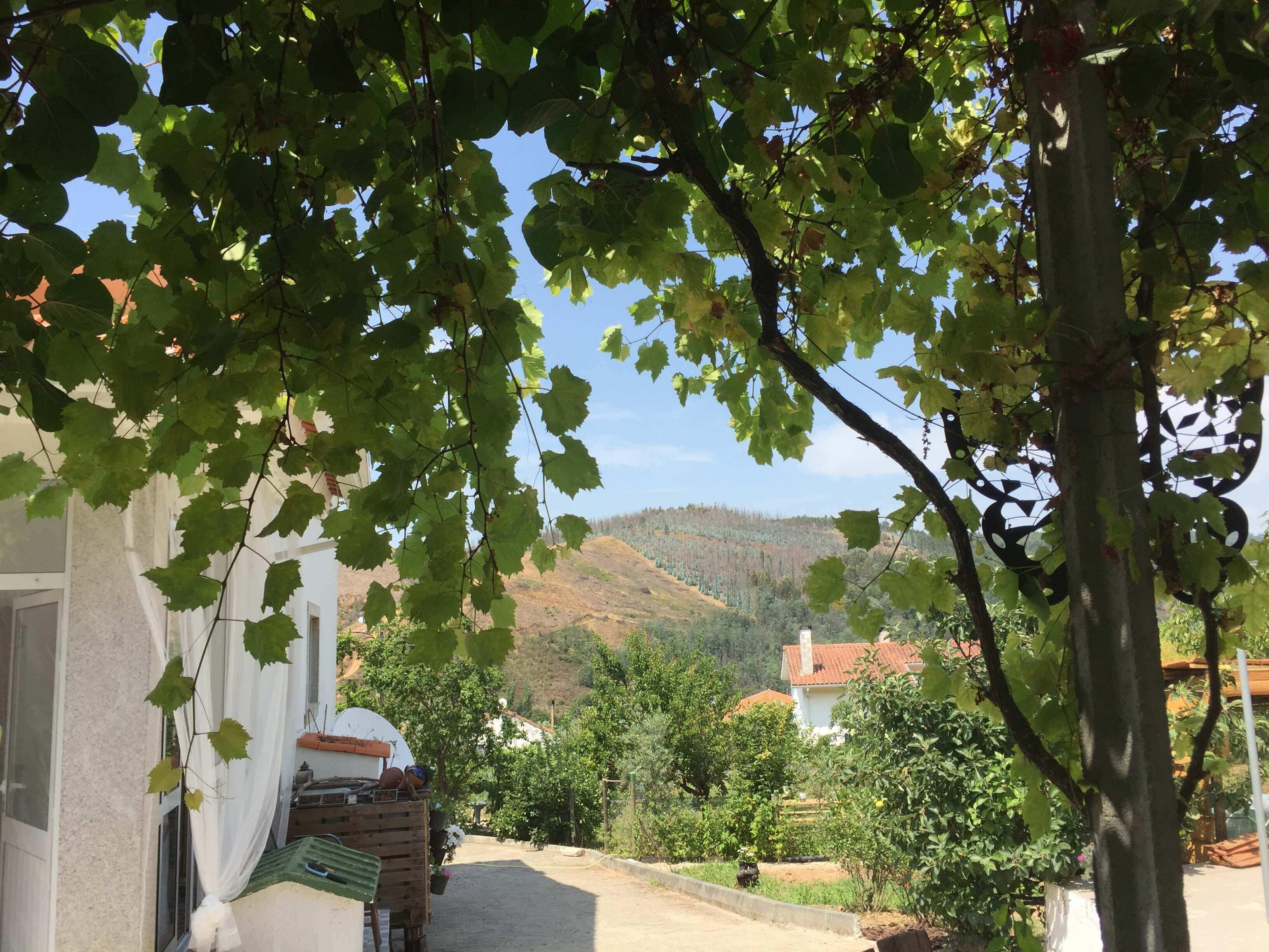 Casa Traca uitzicht vanaf oosters terras
