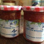 Casa Traca homemade tomatenjam of chutney