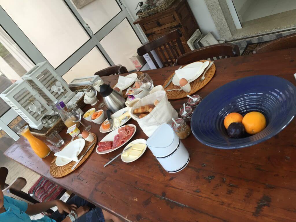 Casa Traca beknopt ontbijt