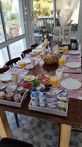 ontbijt bij bed and breakfast Casa Traca
