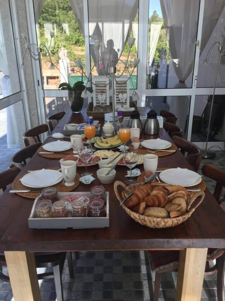 pequeno-almoço serviços