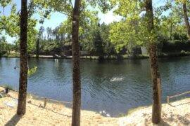 Praia fluvials als zwemgelegenheid bij Casa Traca
