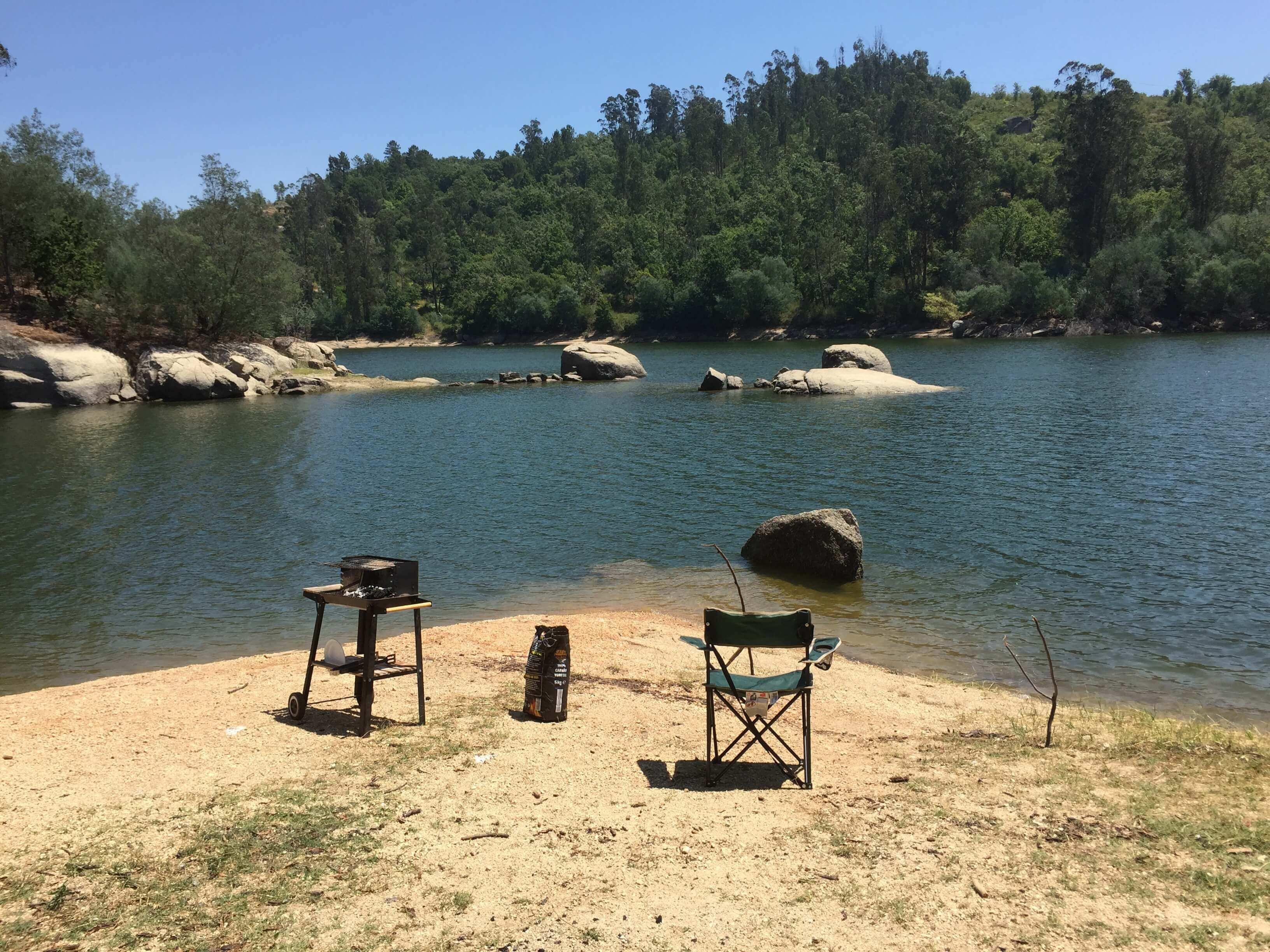 bbq rio Mondego excursie