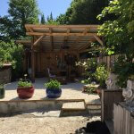 BB Casa Traca Arganil overdekt terras