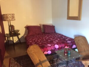 Extra bed in byzanthijnse kamer