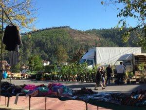 markt in Arganil plaatsen in de omgeving Tabua Gois en Coja