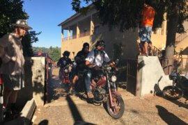 Motorrijden, fietsen en wandelen