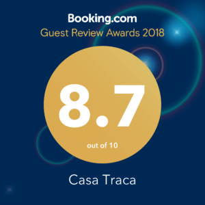 Booking award 2018 guests loves us