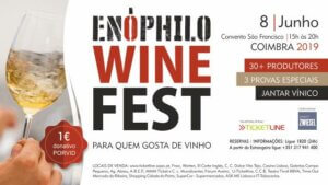 Enophila wine fest Coimbra centraal Portugal