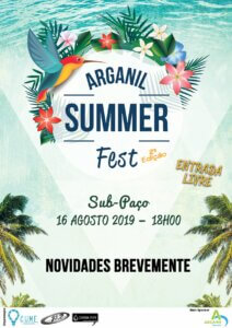 Summer feste Arganil Centraal Portugal
