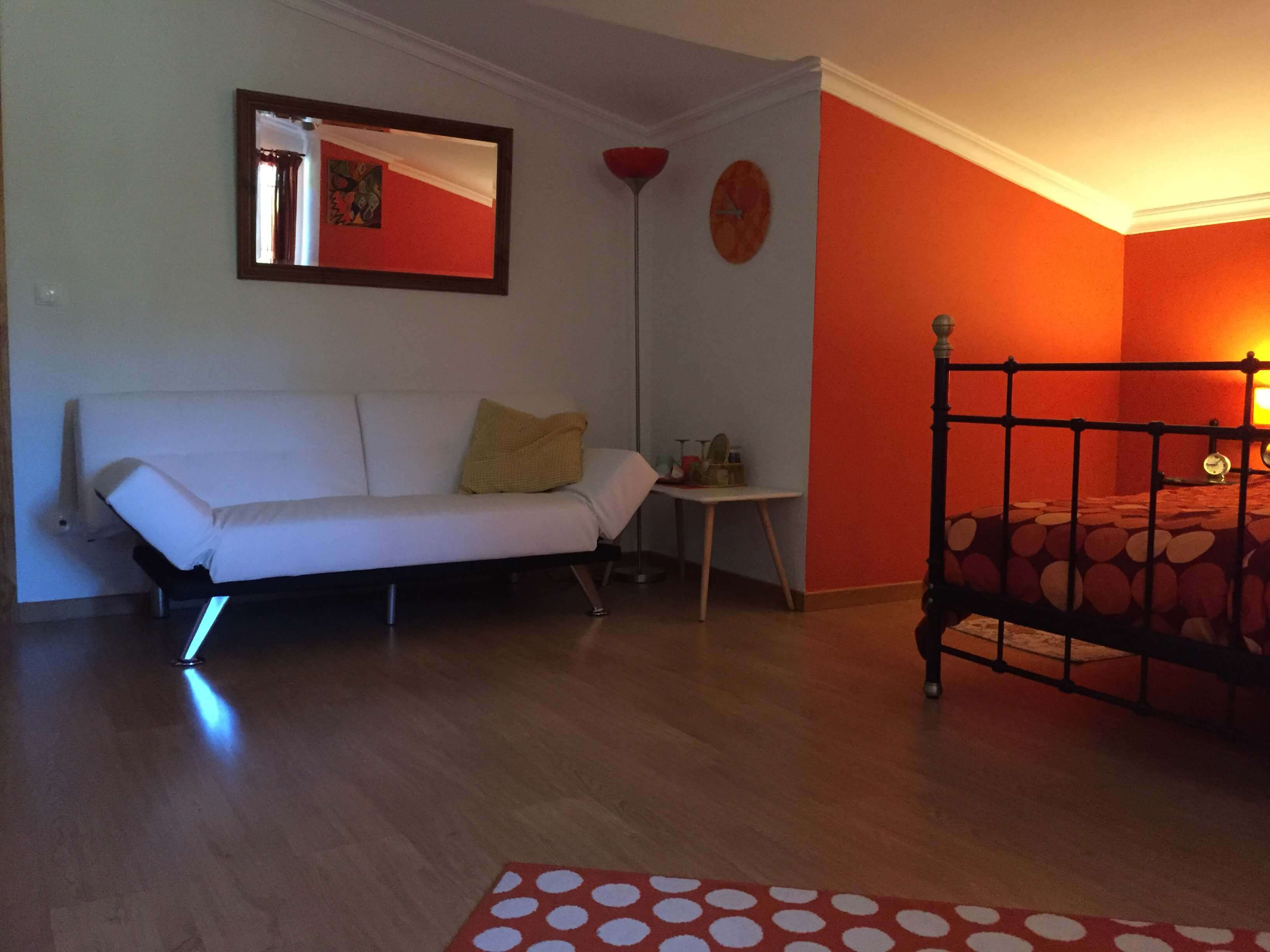 retro kamer Bed and Breakfast Centraal Portugal