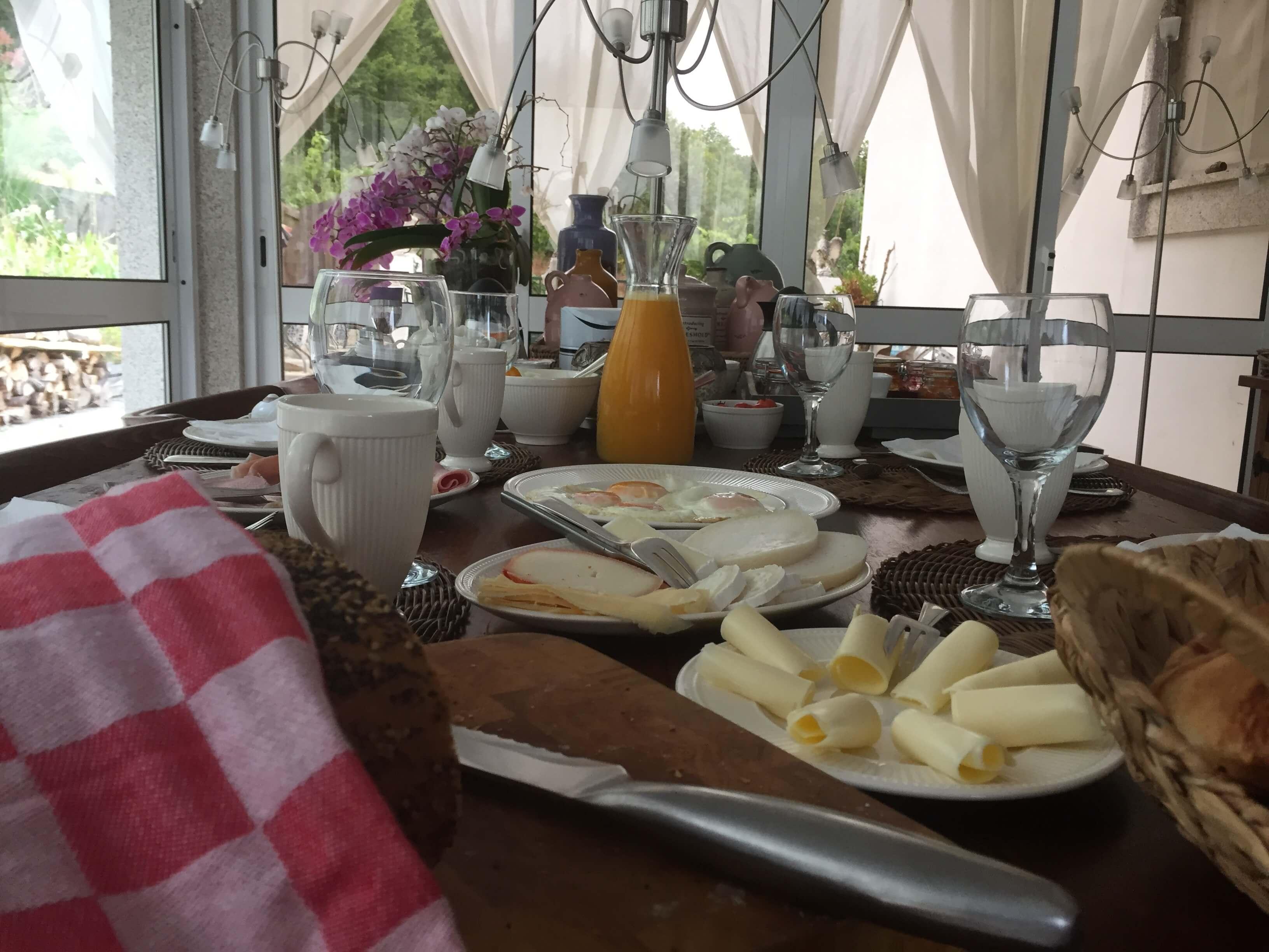 ontbijt Casa Traca