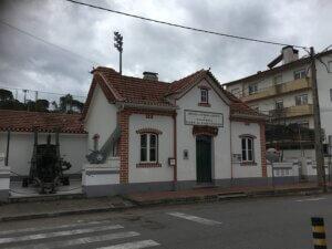 Oorlogsmuseum Arganil centraal portugal
