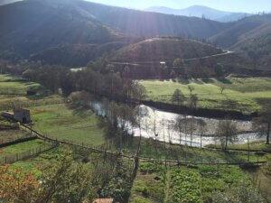 op weg naar Cabeça door Serra do Açor