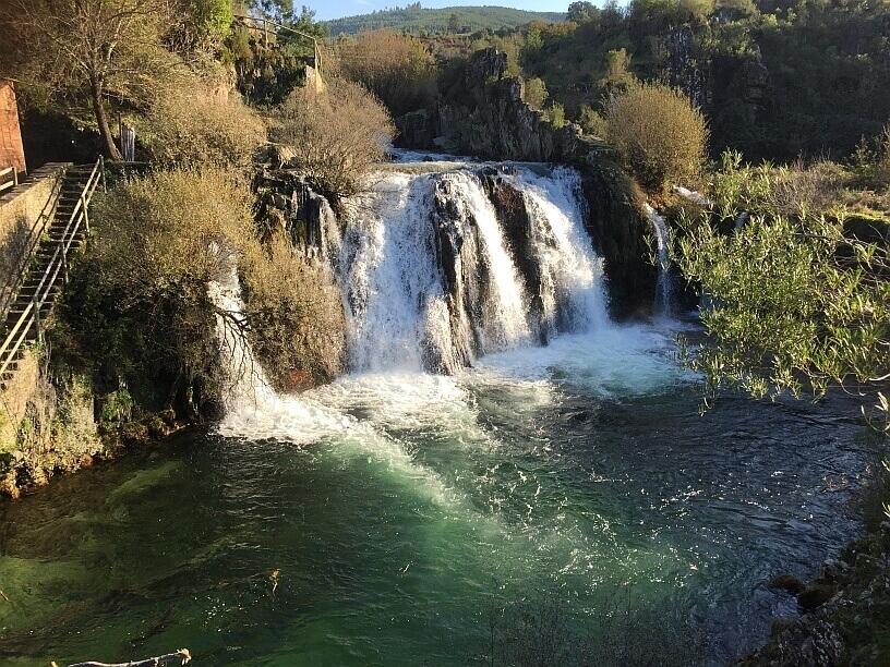 Poco da Broca watervallen Serra do Açor