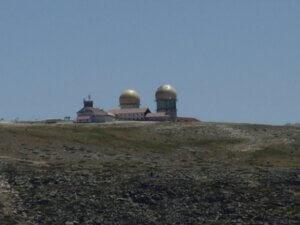 De Torre hoogste punt van het vaste land van Portugal