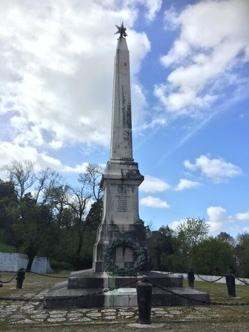 Monument slag om Bussaco