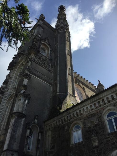 palácio do Bussaco in Mata Nacional do Bussaco
