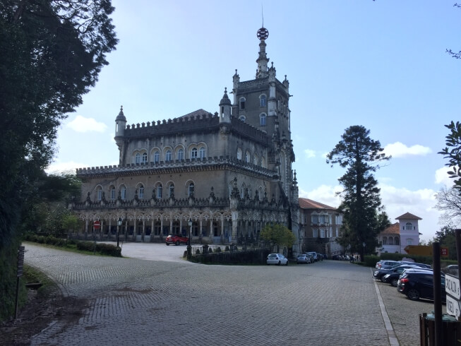 palácio do Bussaco in Mata Nacional do Bussaco