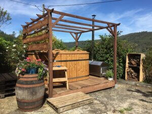 hottub bed and breakfast Midden Portugal Arganil