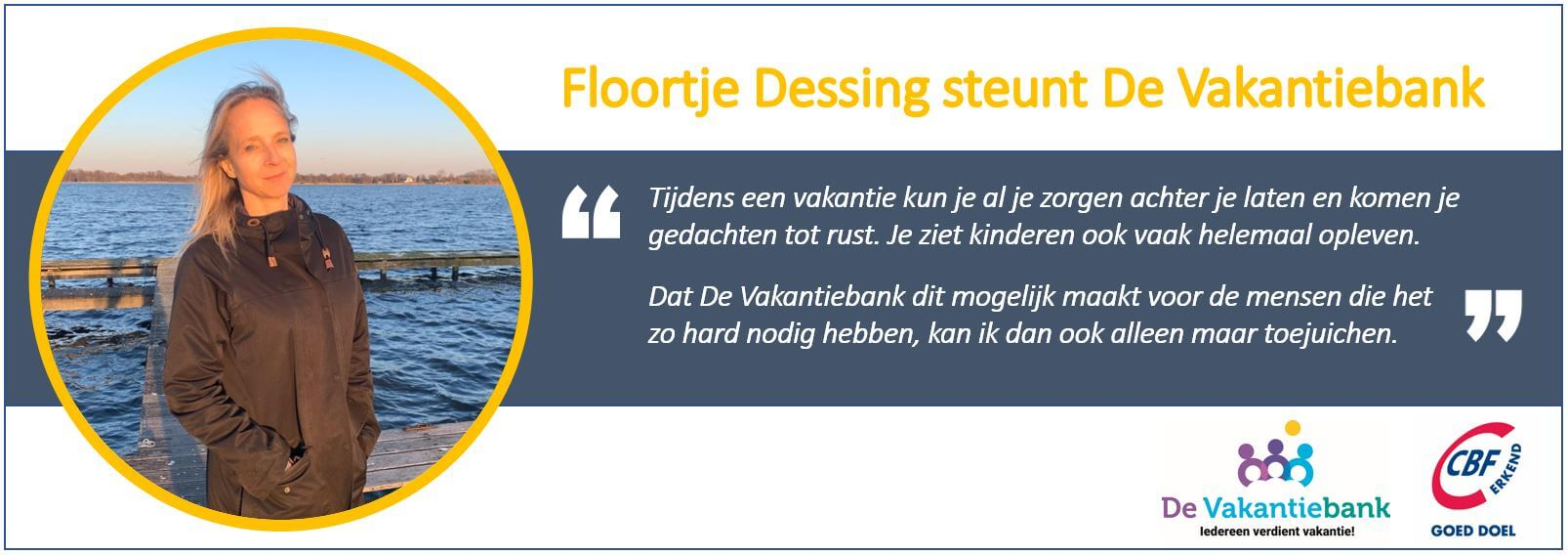Floortje Dessing vakantiebank