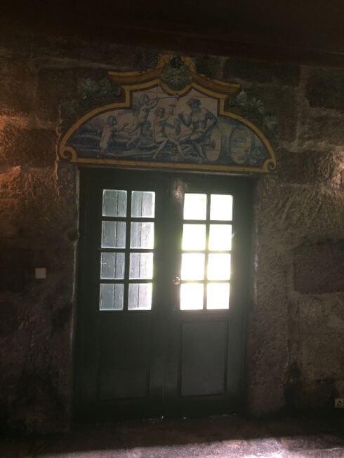 Ruimte in het oude wijnhuis Santar
