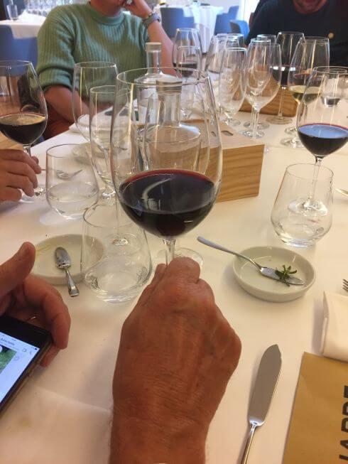 wijnproeverij van Santar wijnen