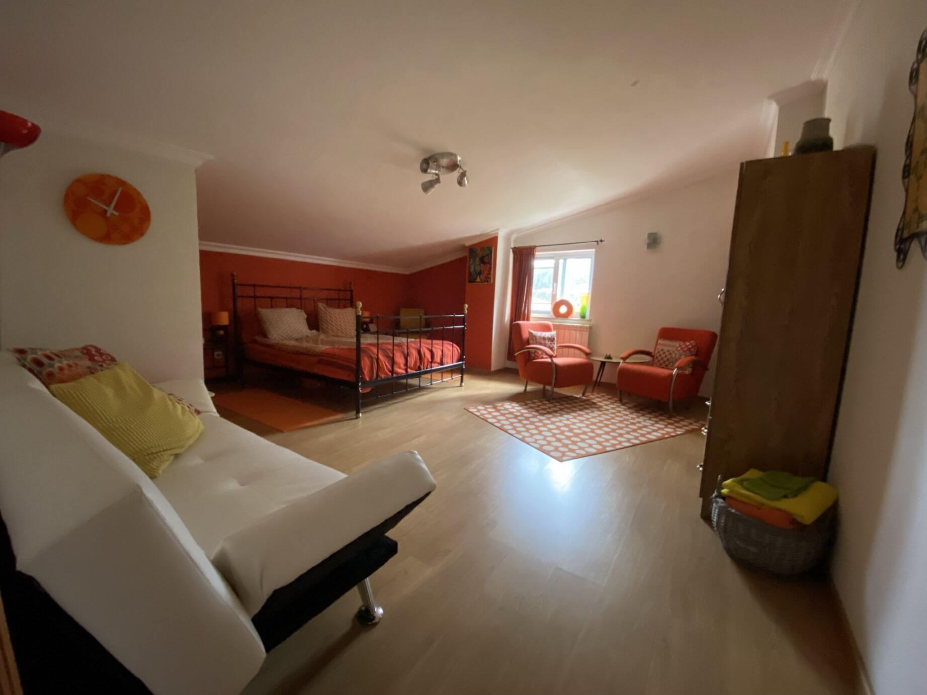 Retro kamer Bed & Breakfast Casa Traca, Arganil Centraal Portugal